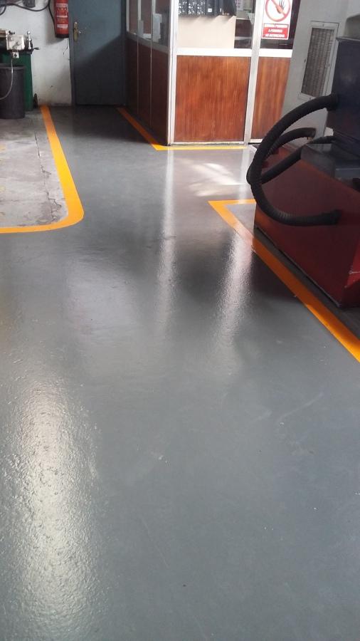 Pintura epoxi de fabrica en vitoria gasteiz lava for Pintura epoxi suelos precio
