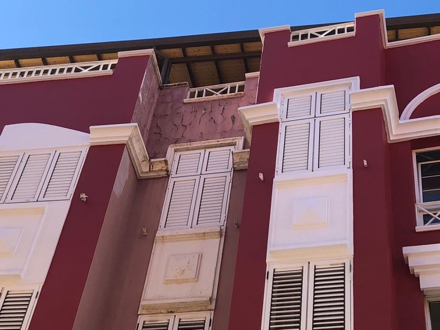 pintura exterior de edifico