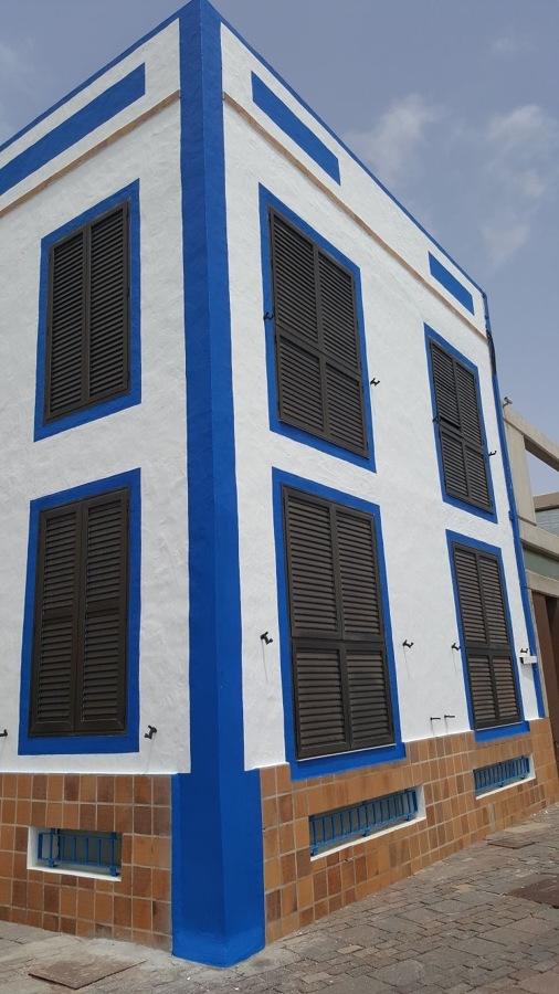 Pintura y revestimiento exterior de edificio fachada - Pintura fachada exterior ...