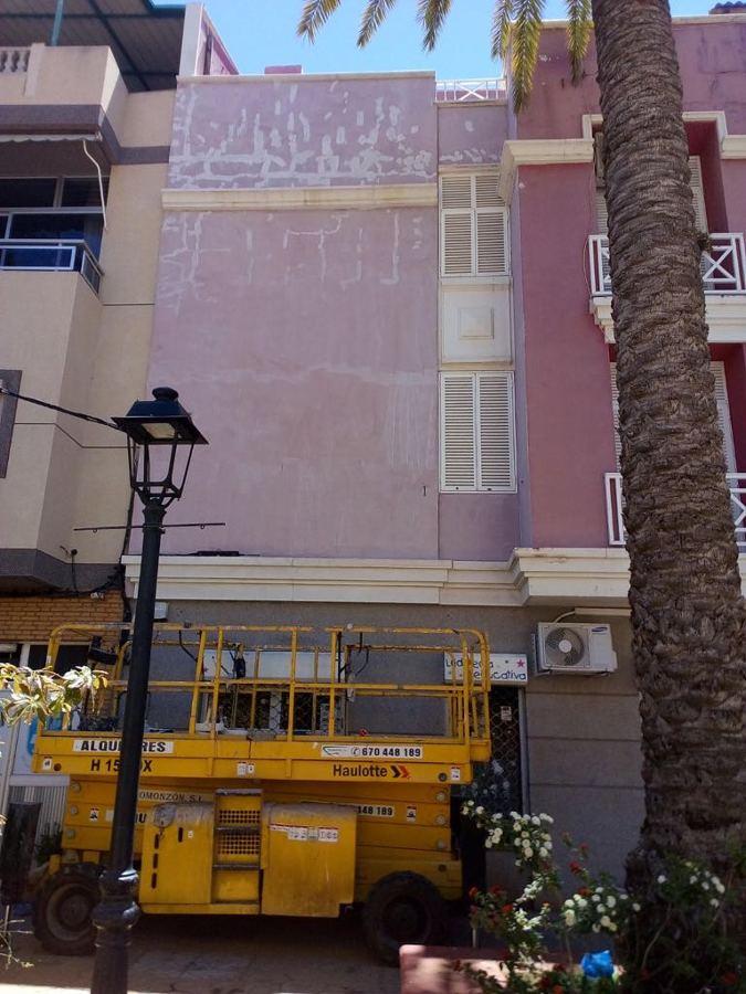 pintura exterior edificio