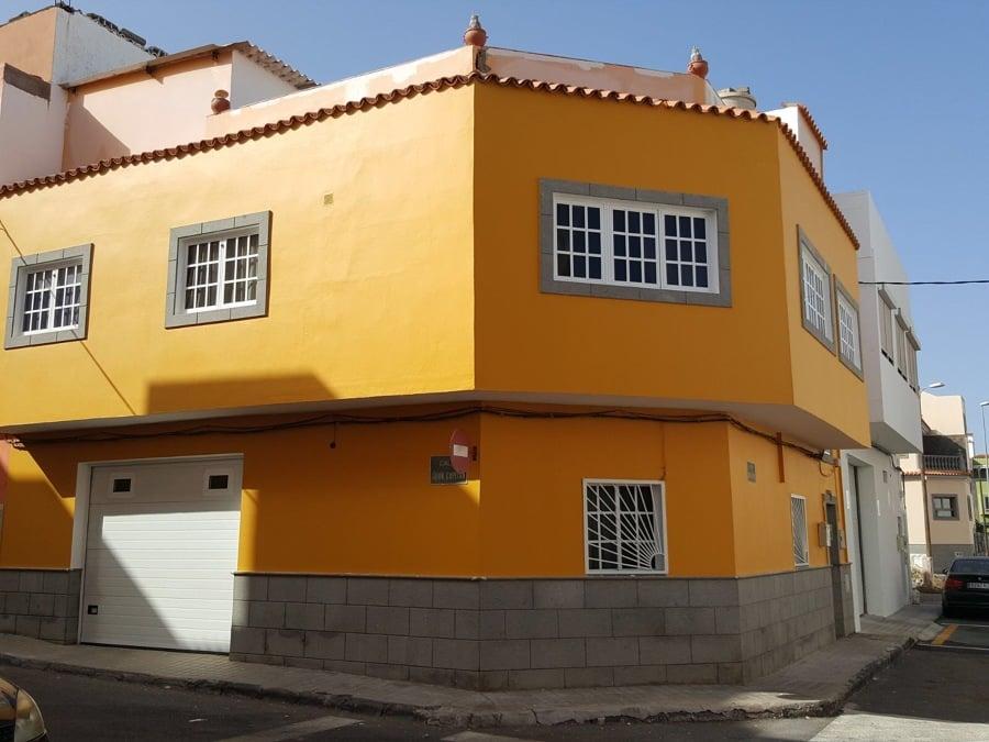 Pintura exterior fachada ideas pintores for Pintura texturada para exterior