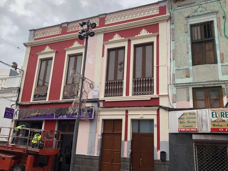 Pintura exterior fachada precios pintor de fachadas y - Pintura fachada exterior ...