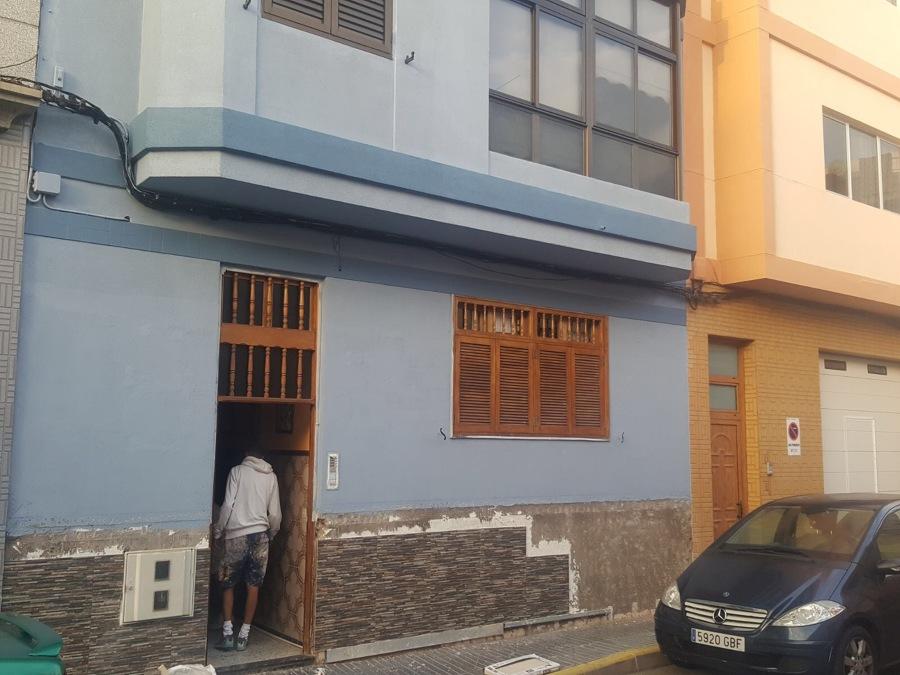 Pintura y revestimiento de exterior fachada ideas pintores - Pintura exterior fachada ...