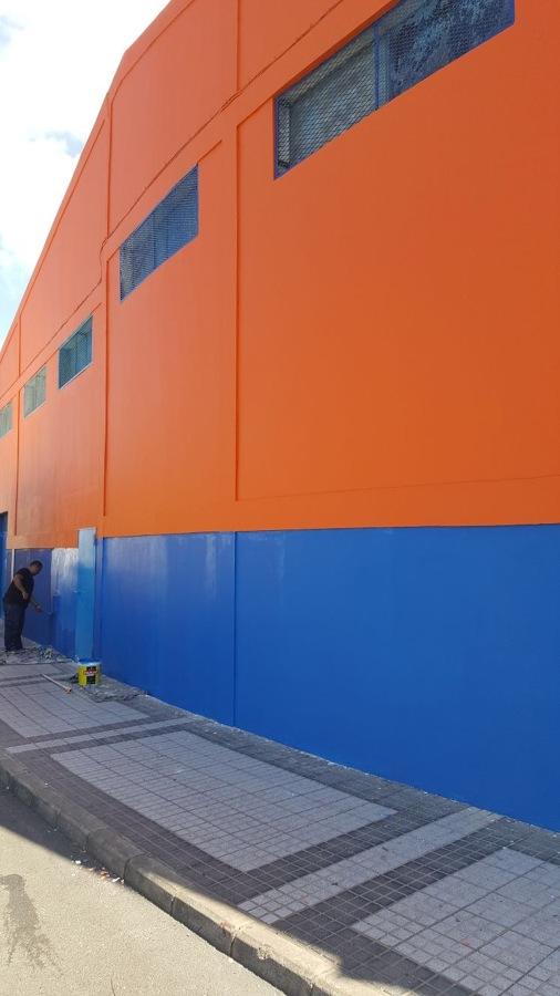 Pintura exterior nave industrial