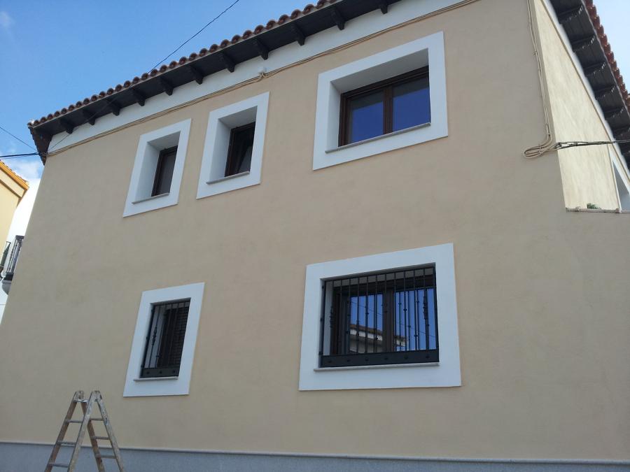 Pintura fachada e interior de vivienda ideas pintores - Pintores de viviendas ...