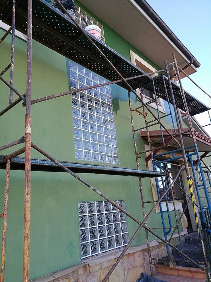 pintura general chalet interior y exterior