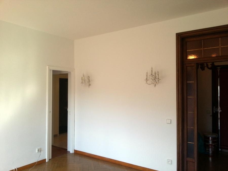 pintura , pulido y barnizado de parquet