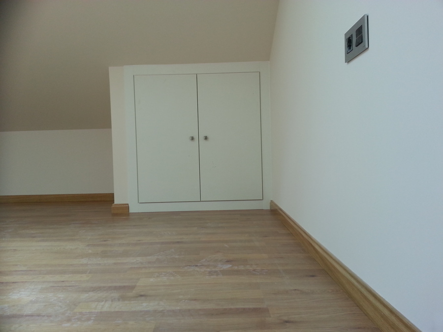 Pintura y armario