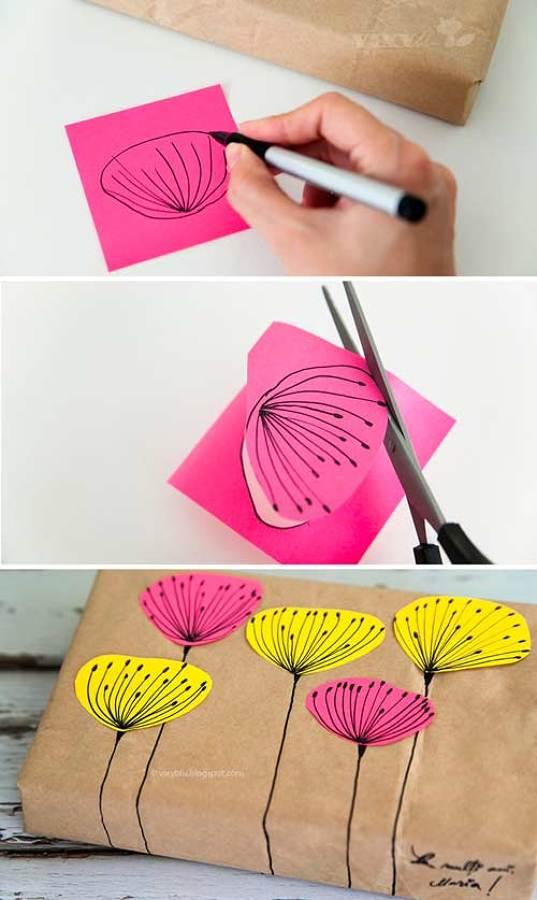 Pintura y cartulina
