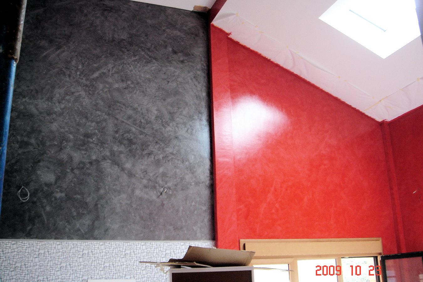 Foto pintura y decoraci n de chalet de barriscal - Pinturas para paredes de salon ...