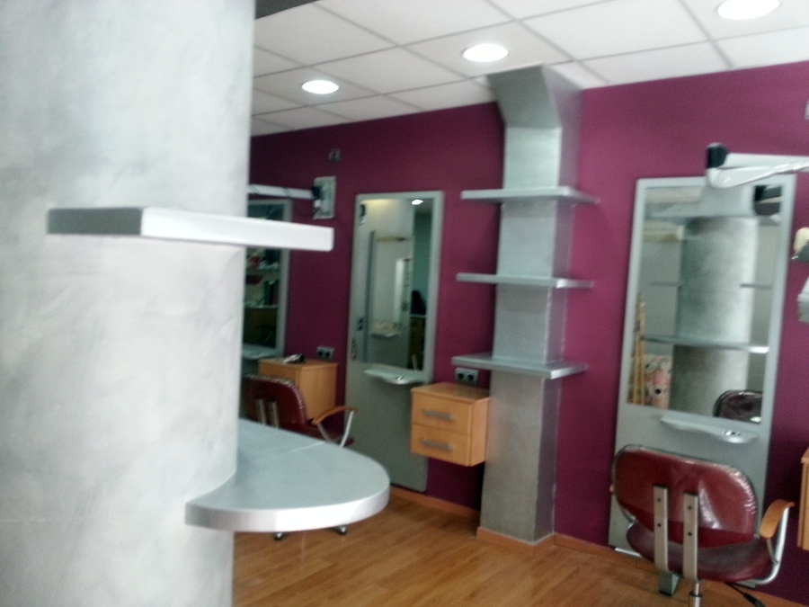 Pintura peluqueria ideas pintores - Ideas para decorar una peluqueria ...