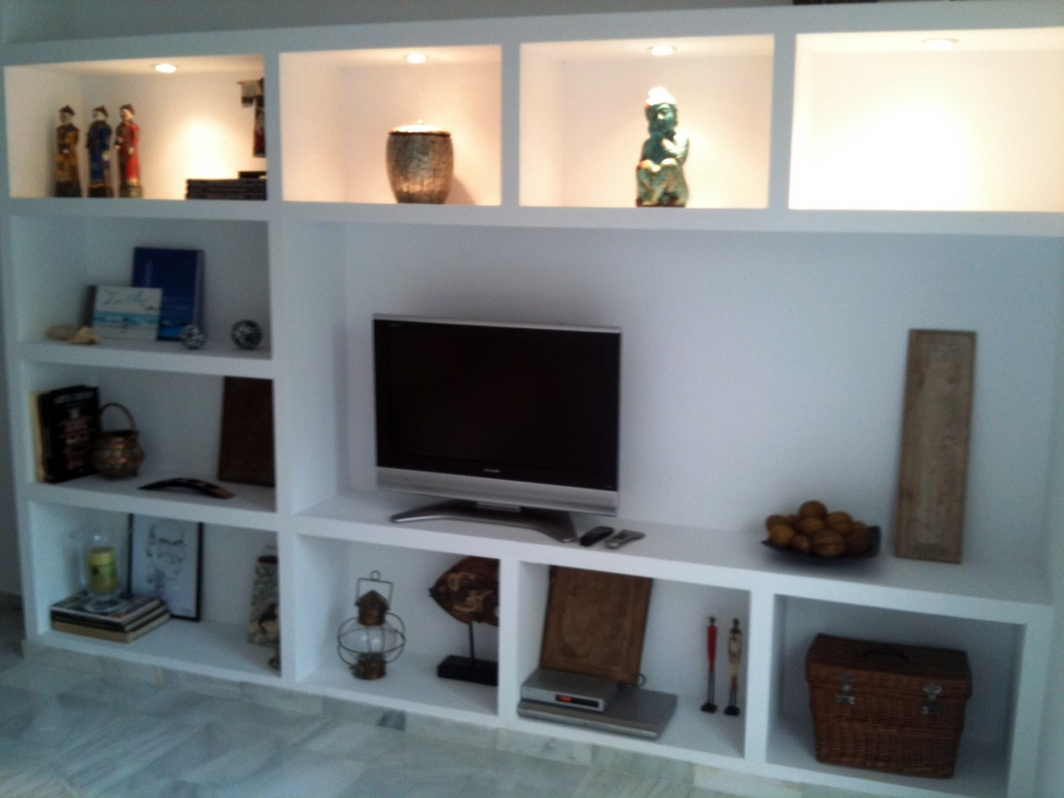 Mueble de pladur ideas pladur - Muebles de pladur para salon ...