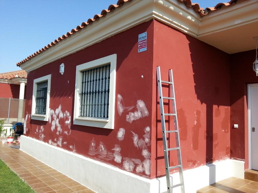 Pinturas chalet exterior ideas pintores - Como pintar fachadas de casas ...