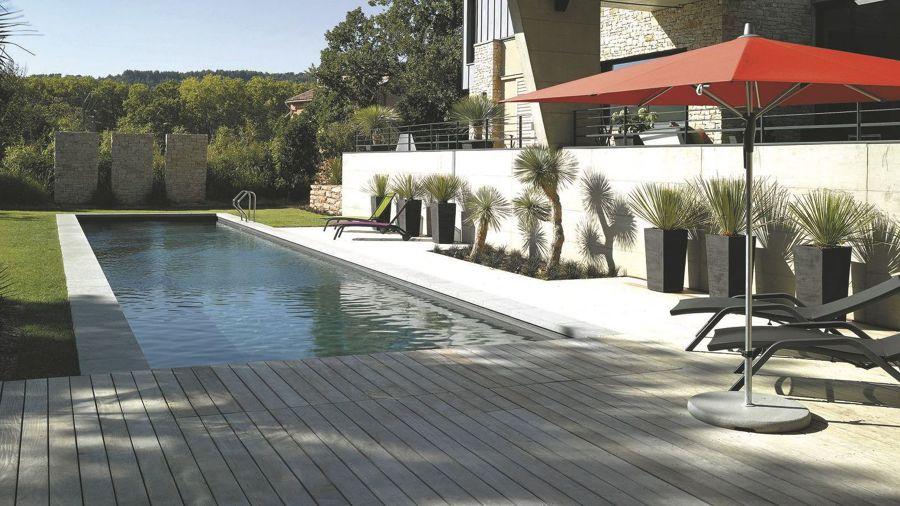 piscinas alargadas el mar en casa piscinas de estilo