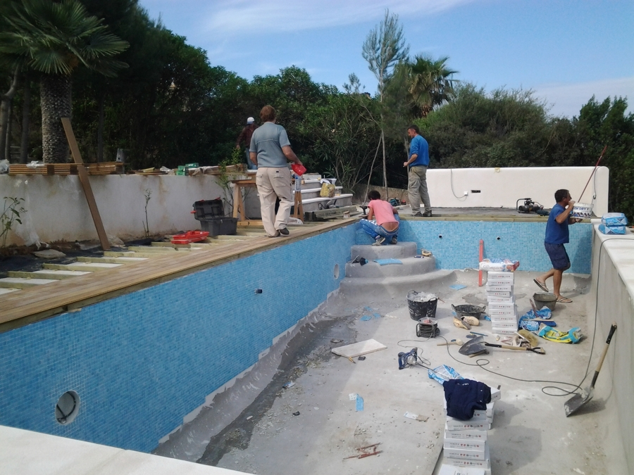 Construcci n de piscina en betlem ideas construcci n for Construccion de piscinas merida