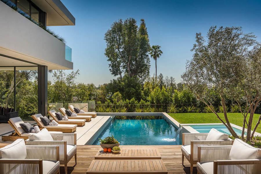piscina casa unifamiliar