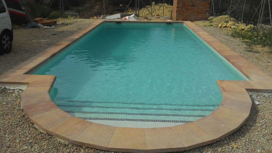 piscina con escalera romana ideas construcci n piscinas