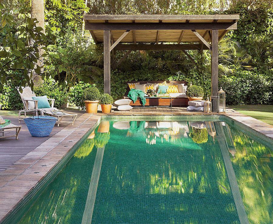 7 revestimientos que revolucionar n tu piscina ideas for Techos para albercas