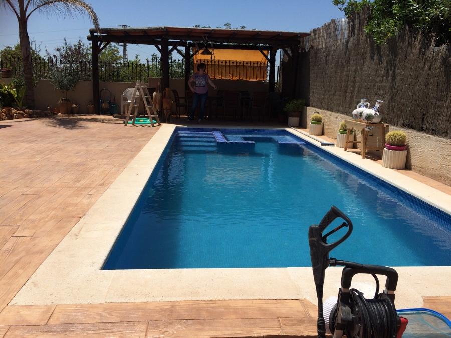 piscina de hormig n en rafelbunyol ideas construcci n