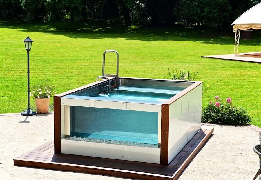 Foto piscina cristal de miriam mart 1798341 habitissimo - Piscina de cristal ...