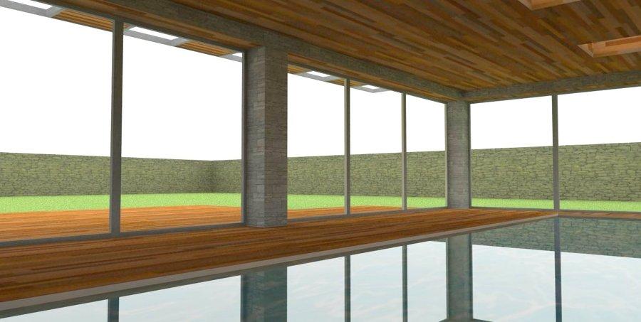 Vivienda unifamiliar con piscina ideas arquitectos for Piscina cubierta galapagar