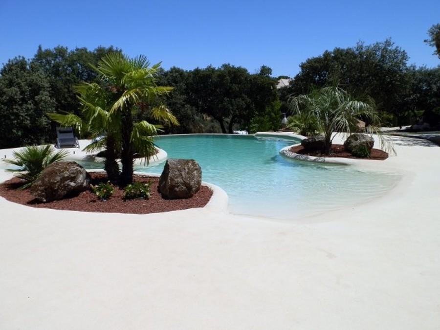 7 revestimientos que revolucionar n tu piscina ideas construcci n piscinas - Piscinas de arena opiniones ...