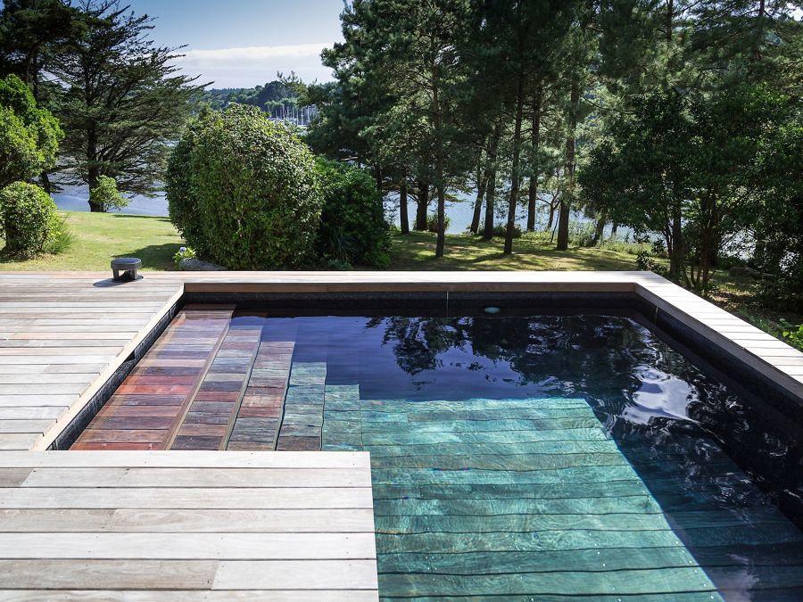 Las 20 piscinas del verano ideas construcci n piscinas - Piscine style bassin pierre argenteuil ...