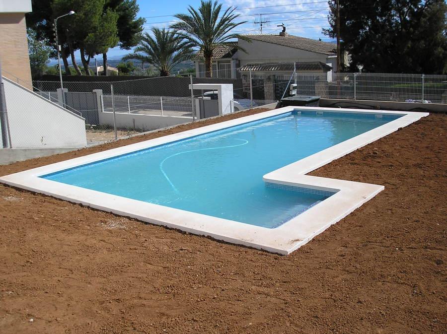 Foto piscina de hormig n gunitado de indepool s l for Piscinas de hormigon
