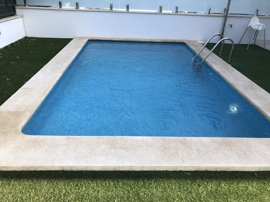 piscina despues de puesta apunto