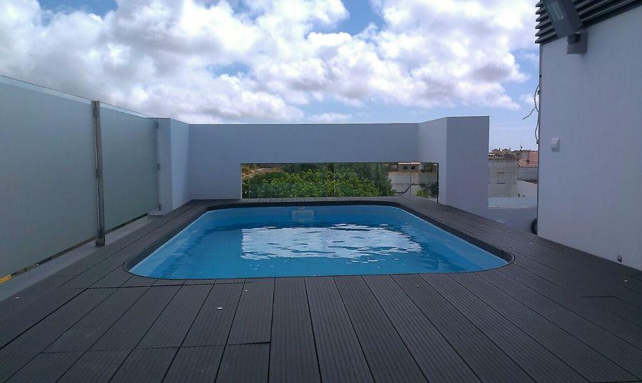piscina en azotea