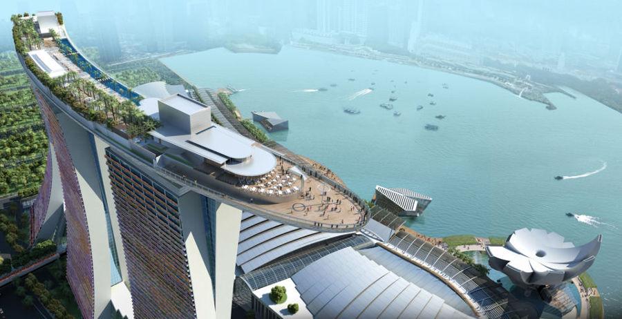 Piscina-en-la-azote-ahotel-singapur