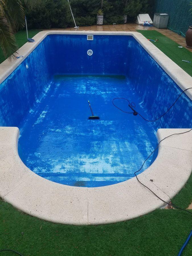 piscina en reformas