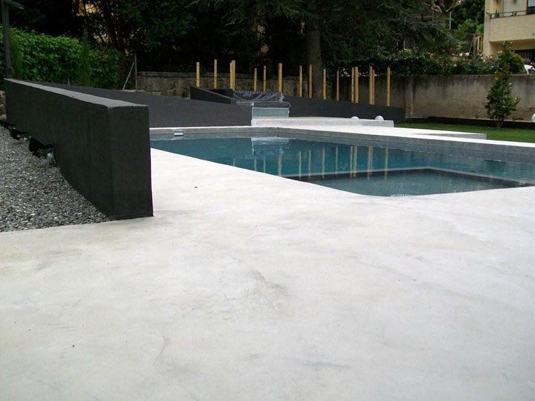 Piscina microcemento vilassar ideas construcci n piscinas - Microcemento para exterior ...