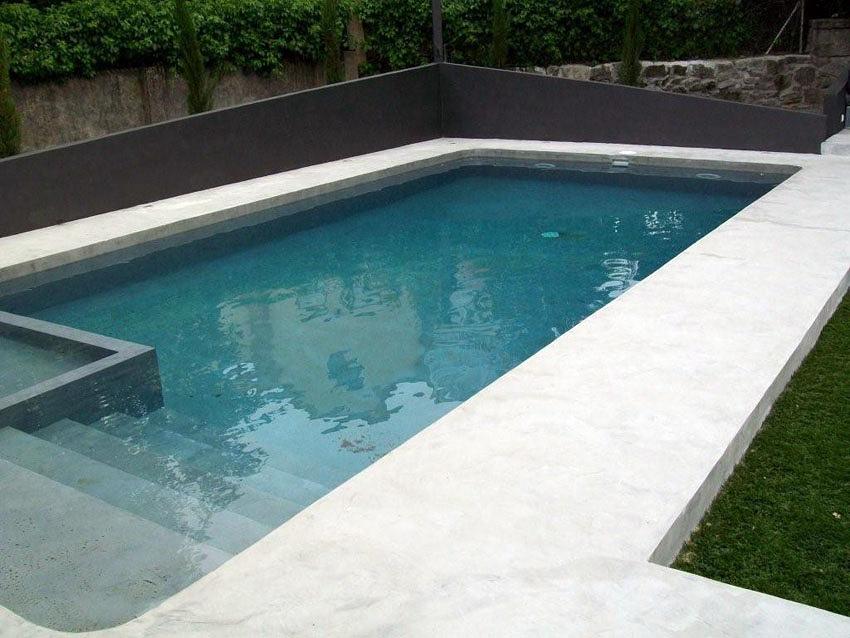 Piscina microcemento vilassar ideas construcci n piscinas - Microcemento piscinas ...
