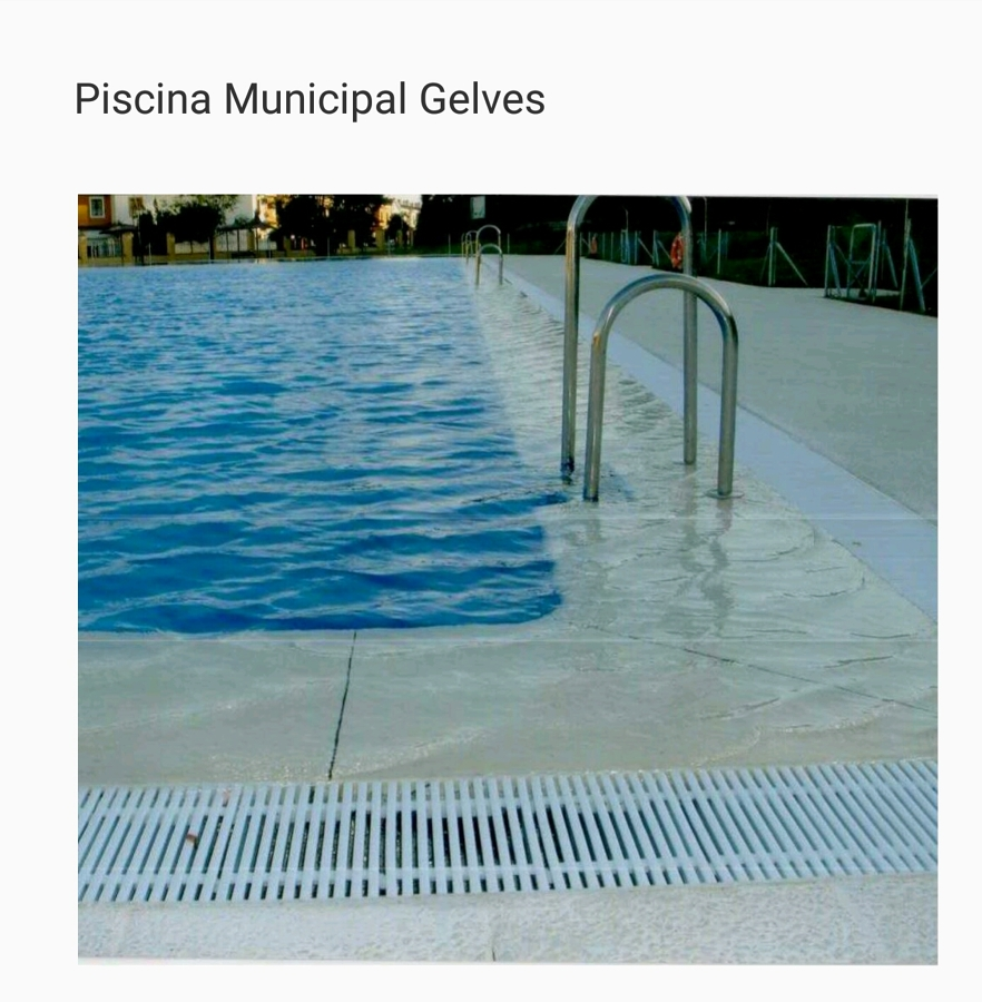 Foto piscina municipal de gelves de doeman for Piscina municipal avila