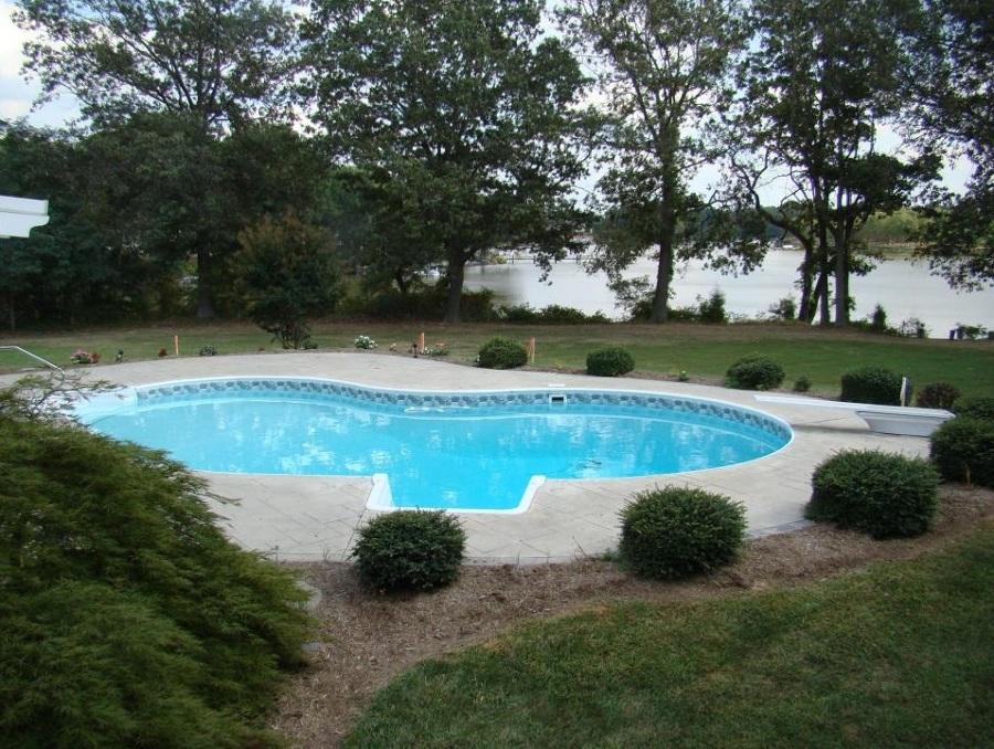 piscina paisaje