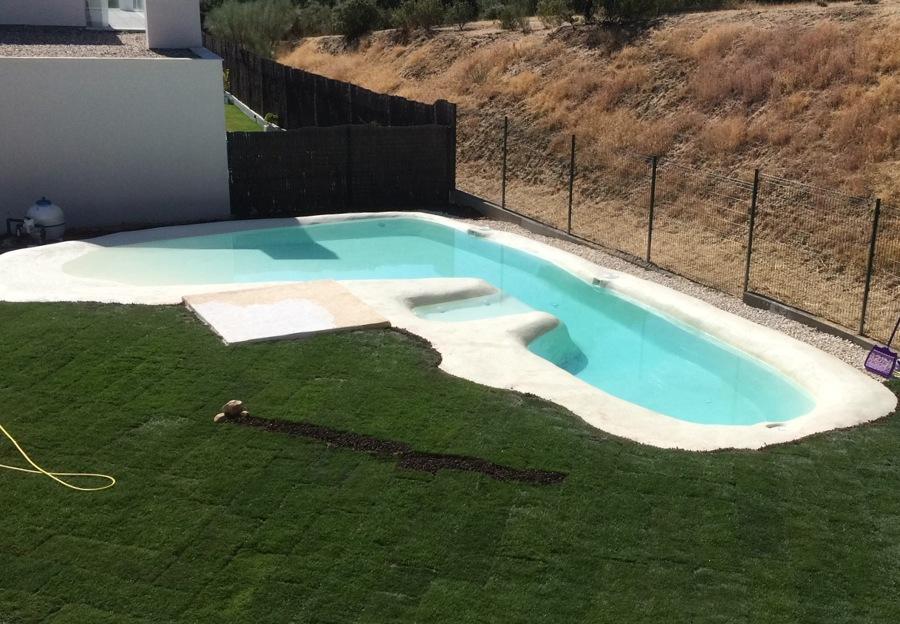 Piscina tipo playa ideas construcci n piscinas - Piscina tipo playa ...