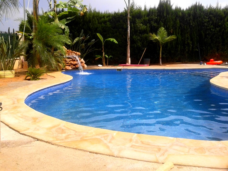 Proyecto y construcci n de piscina tipo laguna ideas for Proyecto de piscina
