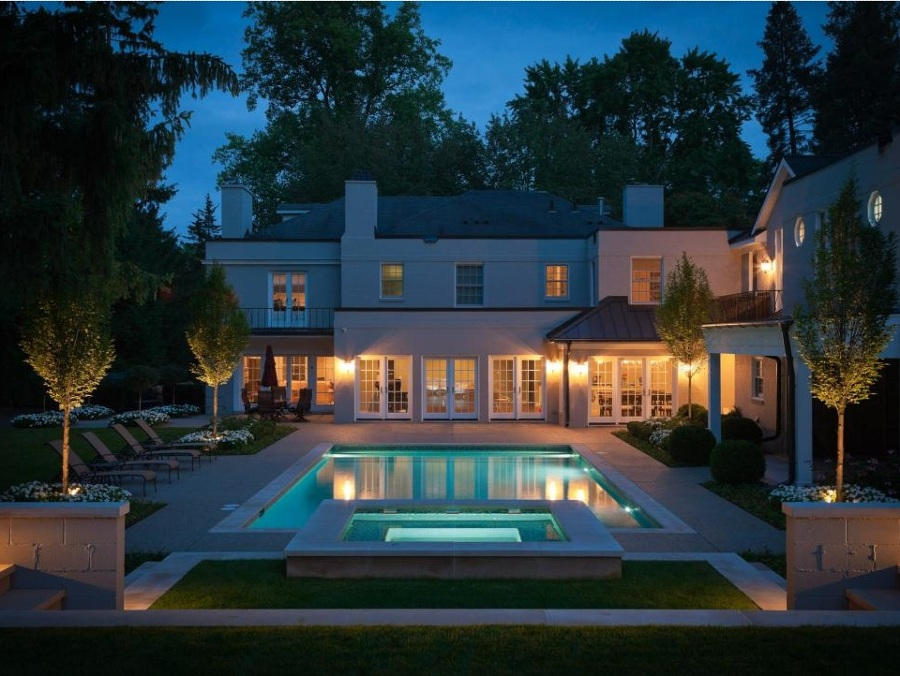 piscina simetria