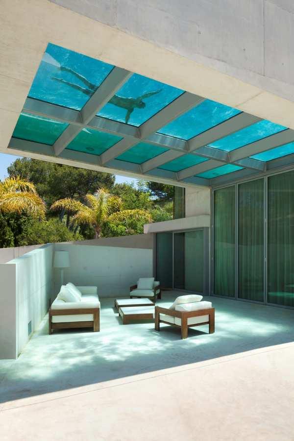 piscina techo