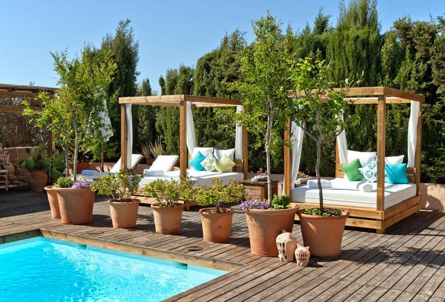 Foto piscina y jard n de anna gaya 899541 habitissimo for Piscinas e jardins