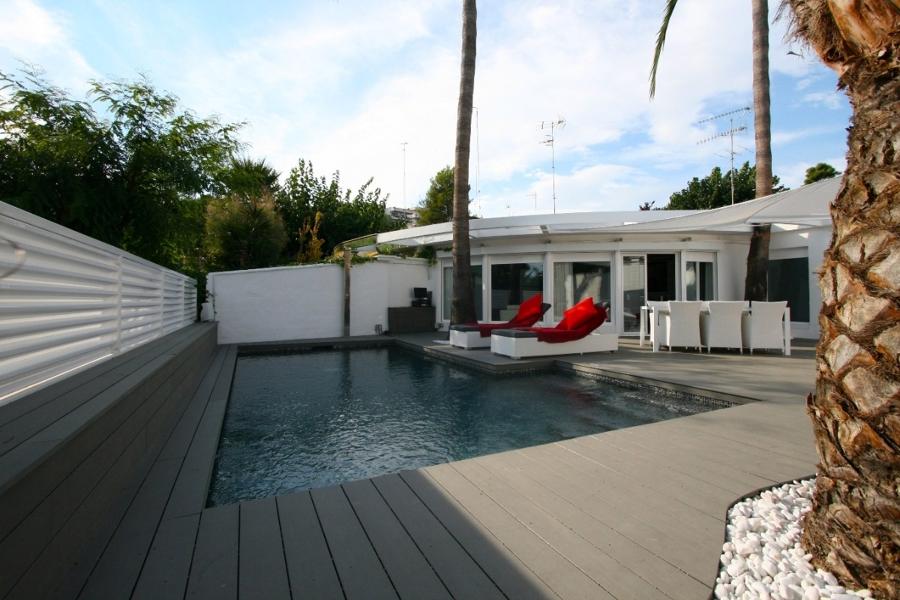 Proyecto de reforma de jard n con piscina ideas decoradores for Proyecto de piscina
