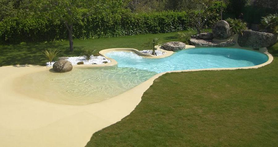 Piscinas de arena conoce los detalles de la nueva tendencia ideas construcci n piscinas - Coste construccion piscina ...