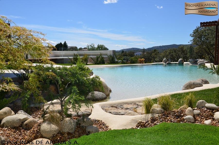 Foto piscinas de arena natursand las originales de for Piscinas de arena