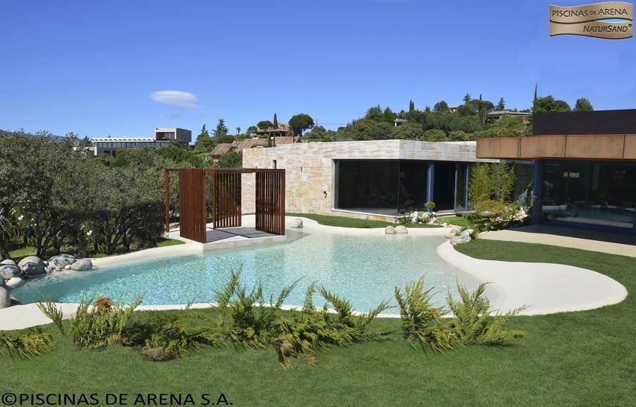 Piscinas de arena sa nuevo concepto en piscinas ideas for Piscina de arena construccion