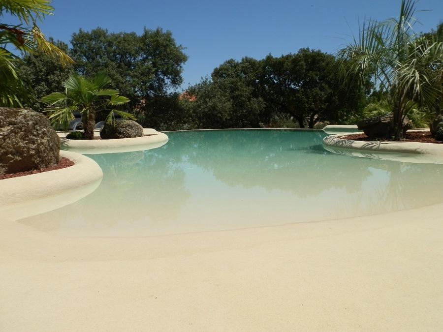Atr vete con las piscinas de arena y acerca tu casa al mar ideas decoradores - Piscinas de arena opiniones ...
