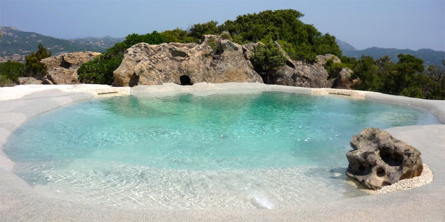 Atr vete con las piscinas de arena y acerca tu casa al mar - Piscina tipo playa ...