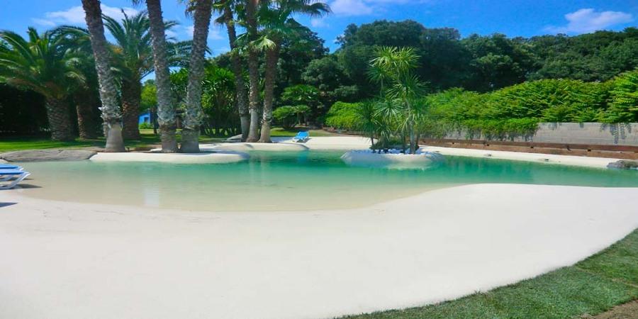 Piscinas de arena como se hacen elegant los animales como for Se hacen piscinas