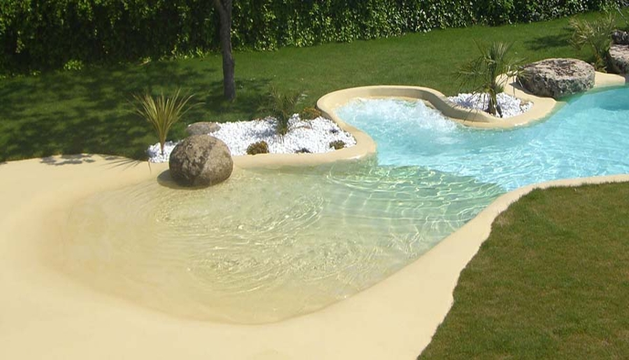 Atr vete con las piscinas de arena y acerca tu casa al mar for Como construir una piscina en chile