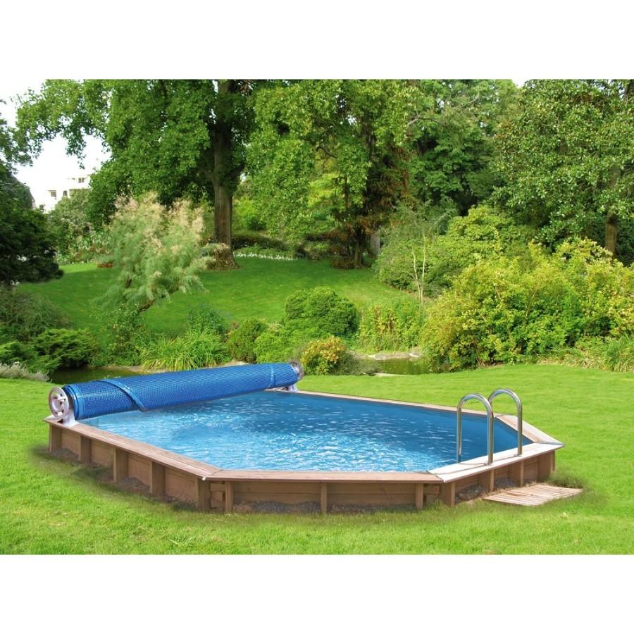 Piscinas de madera ideas construcci n piscinas - Estructura de madera para piscina ...